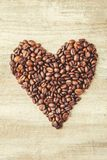 Coffee beans.  romance. Food. Coffee beans. Selective focus.  Food Royalty Free Stock Image