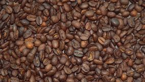 Coffee Beans Rotating. Shot with a Sony a6300 fps29,97 4k stock footage