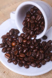 Coffee beans on a saucer Royalty Free Stock Photography