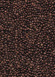 Coffee beans seamless pattern background Stock Photo