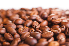 Coffee beans shalow dof Royalty Free Stock Image