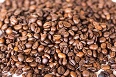 Coffee beans,that smell. Coffee, friends, free time and a lot of taste Stock Photo