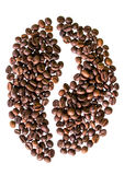Coffee beans are sorted coffee beans Stock Image