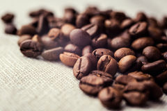 Coffee beans. spilled coffee beans. Beans Stock Photos