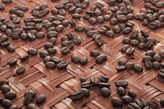 Coffee beans - stock photo. Coffee beans selective focus - stock photo Stock Photos