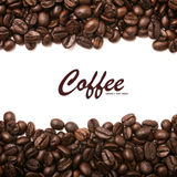 Coffee beans stripes background Stock Photos