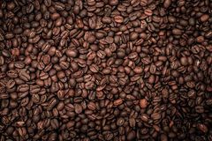 Coffee beans with strong vignette Royalty Free Stock Photo