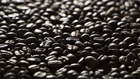 Coffee beans on the table background blurred abstract blurred. Coffee beans on the table background blurred abstract background blurred abstract background stock images