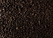 Coffee beans on the table background blurred abstract blurred. Coffee beans on the table background blurred abstract background blurred abstract background royalty free stock images