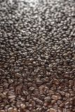 Coffee beans on the table background blurred abstract blurred. Coffee beans on the table background blurred abstract background blurred abstract background royalty free stock photography