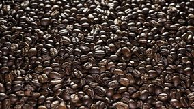 Coffee beans on the table background blurred abstract blurred. Coffee beans on the table background blurred abstract background blurred abstract background stock photo