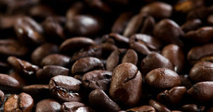 Coffee beans texture. Close up Stock Photo
