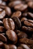 Coffee beans texture. Close up Royalty Free Stock Photography