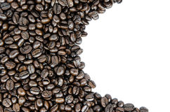 Coffee beans texture Royalty Free Stock Photography