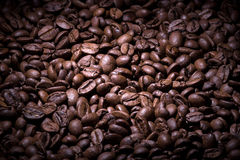 Coffee beans texture Royalty Free Stock Images