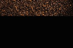 Coffee beans wallpaper with black stock photography