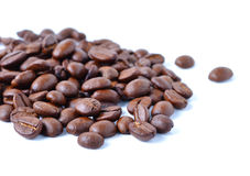 Coffee beans. On white background Stock Photography