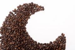 Coffee beans. On white background Royalty Free Stock Photos