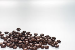 Coffee beans on white background. Isolate royalty free stock photos