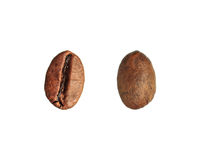 Coffee beans on white background. Stock Photography
