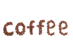 Coffee from beans Stock Photos