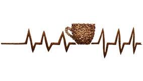 Coffee beat. Stock Image