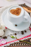 Coffee in bed Stock Photo