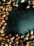 Coffee been. Coffee bean on the table royalty free stock photo