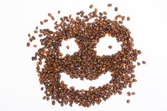 Coffee-beens background Stock Photo
