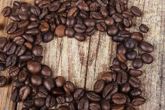 Coffee Bens Heart Stock Photos