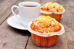 Coffee berry muffins Royalty Free Stock Photography