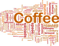 Coffee beverage background concept Royalty Free Stock Photo