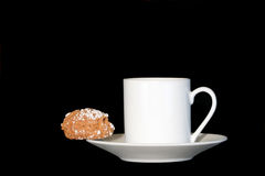 Coffee and Biscuit Delight Stock Image