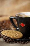 Coffee and biscuits Royalty Free Stock Image