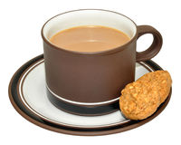 Coffee And Biscuits Stock Image