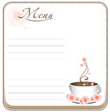Coffee blank Royalty Free Stock Photo