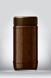 Coffee blank package Royalty Free Stock Images