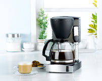 Coffee blender machine royalty free stock images