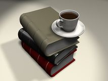 Coffee book 1 Royalty Free Stock Photo