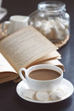 Coffee and book Royalty Free Stock Photos