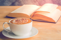 coffee book royalty free stock image