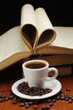 Coffee and book Royalty Free Stock Photography