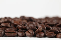 Coffee border Stock Image