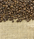 Coffee border Royalty Free Stock Image