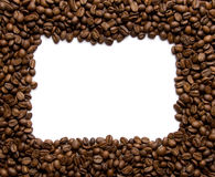 Coffee border Royalty Free Stock Photos