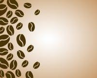 Coffee border Stock Photos