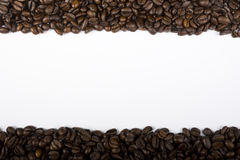 Coffee Borders Royalty Free Stock Photography