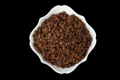 Coffee in bowl Royalty Free Stock Images