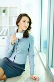 At coffee break Stock Photos