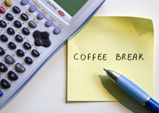 Coffee break Royalty Free Stock Images